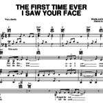 "Dieser Song: ""The First Time I Ever Saw Your Face"""